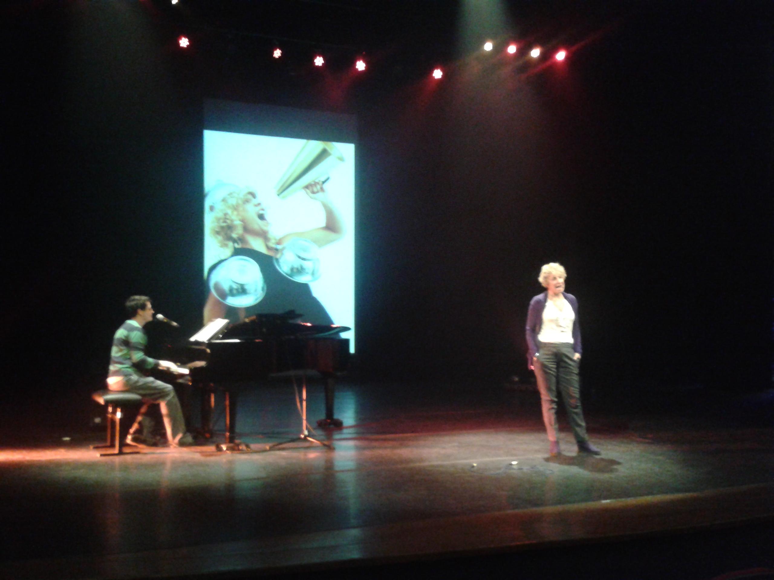 Rehearsing with Morag McLaren - Aalst, Belgium