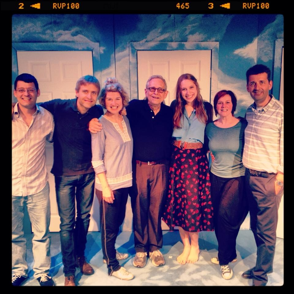 Closer Than Ever cast with Richard Maltby Jr & Emily Maltby, Jermyn Street Theatre